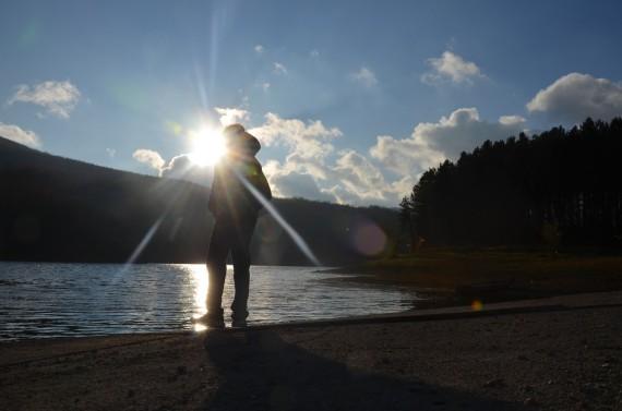 Mohanji at Bor Lake, Serbia