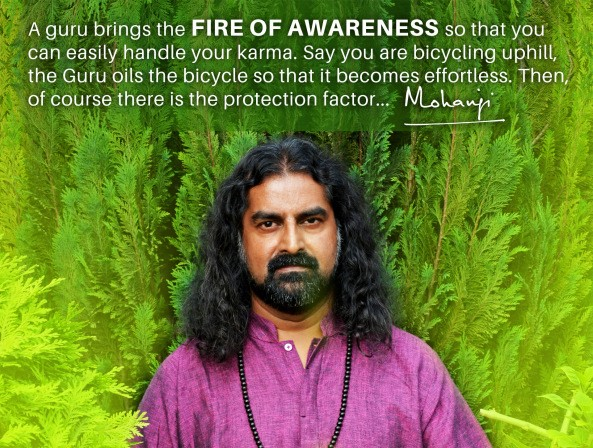 Mohanji, The Brother in truth 1 Mohanji quote - fire of awareness