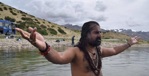 Sujata 8 - Kailash with Mohanji