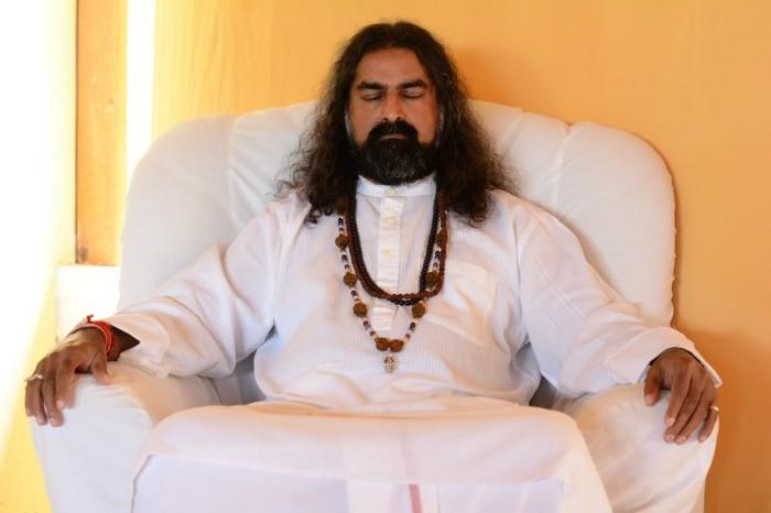 mohansuniverse - Mohanji - Mohanji in meditation