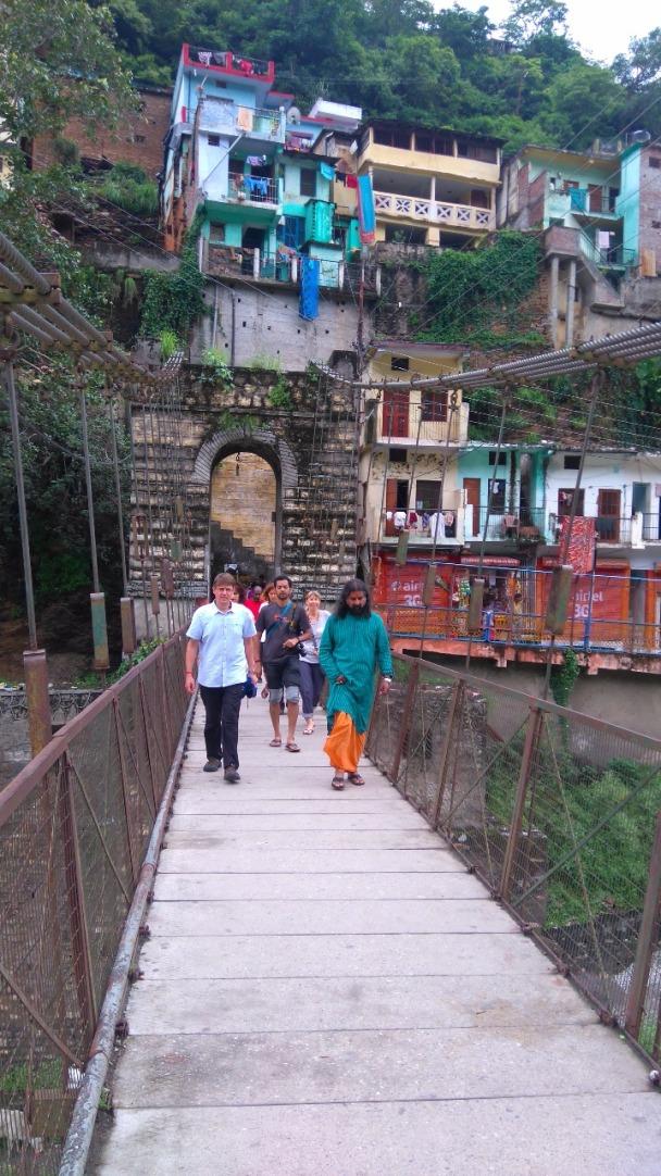 Mohanji_a walk