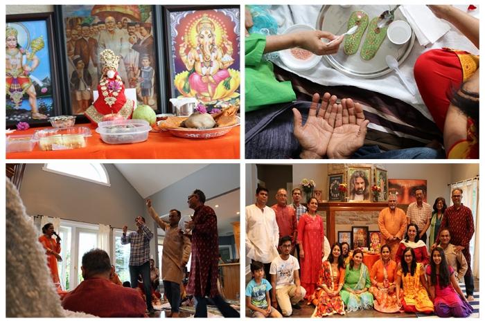 Canada Datta Tapovan - Mohanji - Guru Purnima colage
