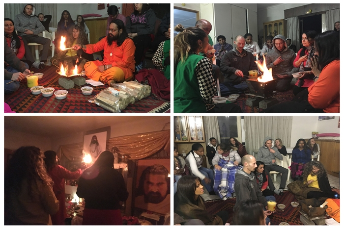 Guru Purnima - Johannesburg - South Africa - Mohanji- colage