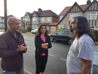 Unexpectedly meeting Mohanji on the street