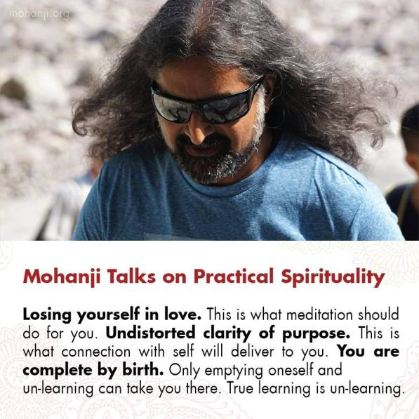 Mohanji Satcharita – Chapter 1, October 2018 – Experiences With Mohanji