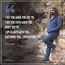 Mohanji Satcharita_I see you when you see me quote