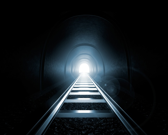 Light at the End of the Tunnel (3D Render)