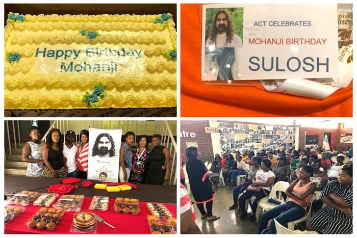 ACT South Africa - Mahatma Ghandi's home - Happy birthday Mohanji