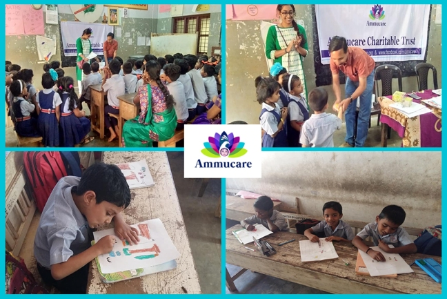 Ammucare - Wayanad - painting competition - Happy birthday Mohanji -