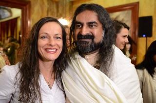 Biljana with Mohanji
