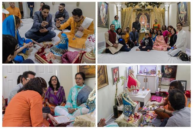 Happy birthday Mohanji - Canada - Shirdi Sai Baba idol - Shri Sai Satsharithra reading