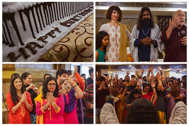Happy birthday Mohanji - Delhi celebration