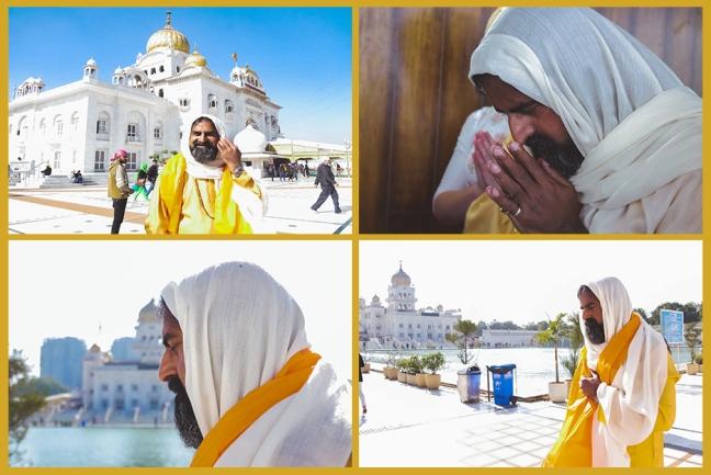 Happy birthday Mohanji - Delhi - visit to Sikh - at Bangla Sahib