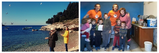 Happy birthday Mohanji - Pula i Rijeka- hranjenje ptica - pomoc obitelji