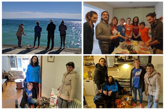 Happy birthday Mohanji - Split - hranjenje ptica - pomoc obitelji