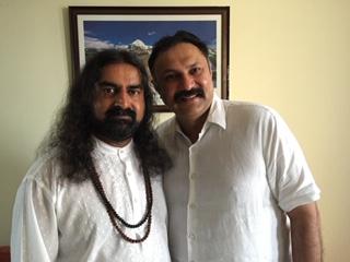 Harpreet Wasir with Mohanji