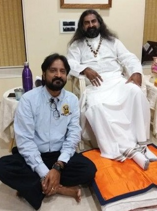 Kannan with Mohanji