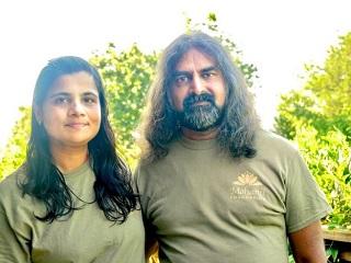 Lakshmi Nair with Mohanji