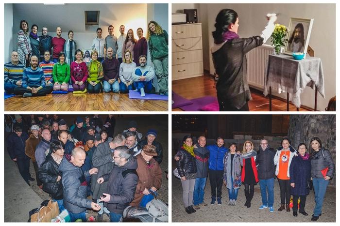 Macedonia - Mohanji's birthday celebration - meditation and food donation