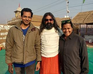 Madhu & Preethi with Mohanji