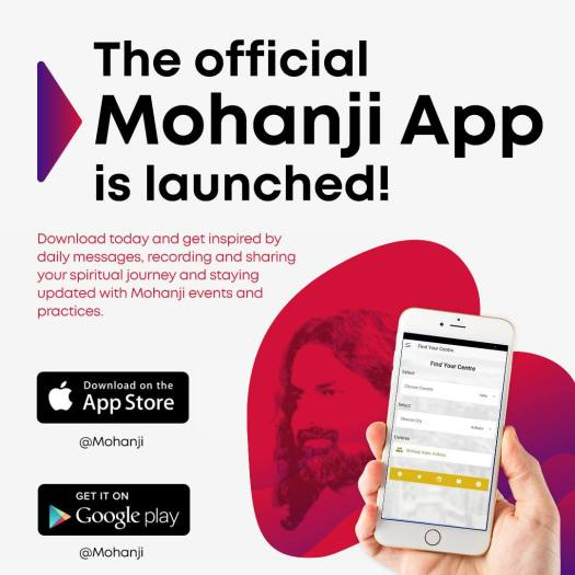Mohanji App for Android and iOS