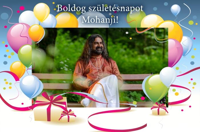 Mohanji - Happy birthday - Hungary