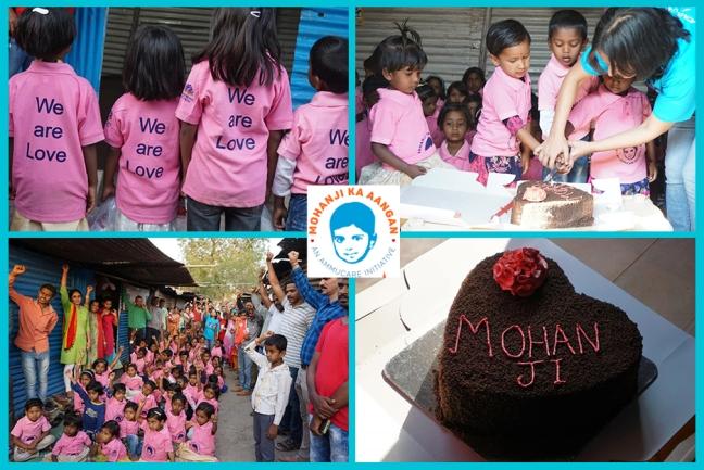 Mohanji Ka Aangan - Pune - Ammucare - Happy birthday Mohanji