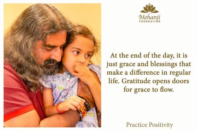 Mohanji on gratitude