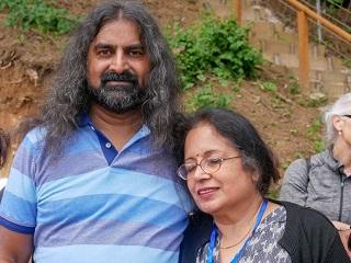 Mohanji with Sunita