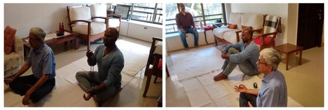 Mumbai - Happy birthday Mohanji - meditation