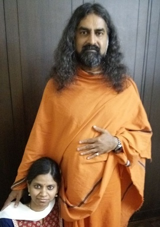 Neelu with Mohanji