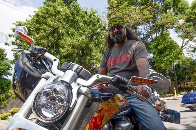 Mohanji on the Ride