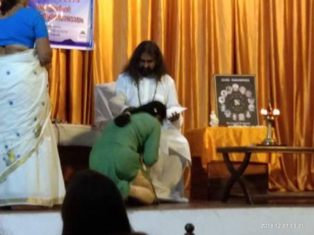 The Power Of Blessings_Radha with Mohanji in Thrissur