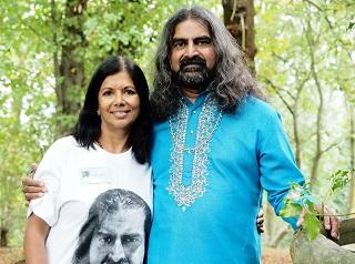 Rashila with Mohanji