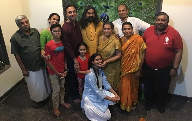 Sathya family with Mohanji