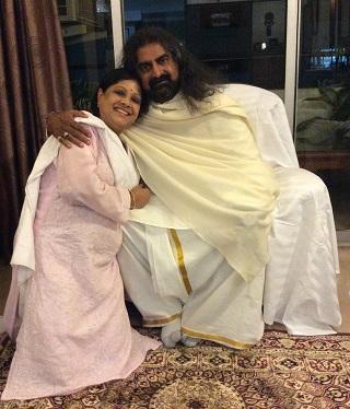 Soma with Mohanji
