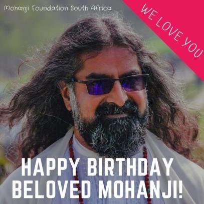 South Africa - Happy birthday Mohanji