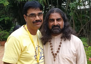 Srinivas_with_Mohanji
