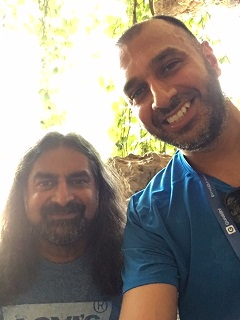 Steven Sohal with Mohanji