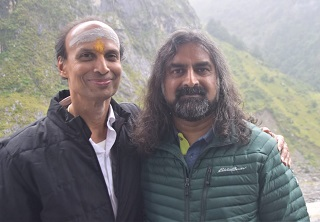 Subramaniam with Mohanji