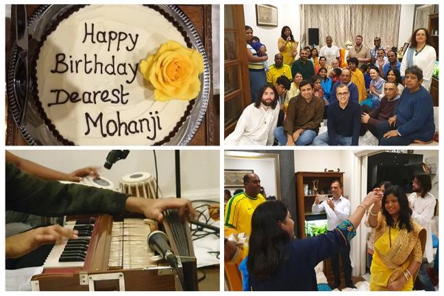 United Kingdom - Mohanji - birthday celebration