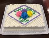 USA - Happy birthday Mohanji - 5 cake