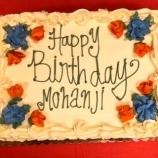 USA - Happy birthday Mohanji - 8 cake
