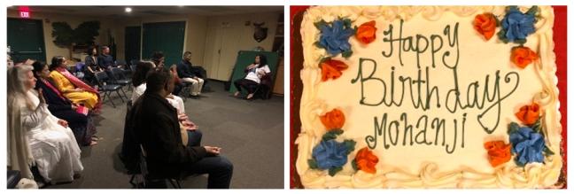 USA - Happy birthday Mohanji - cake 2
