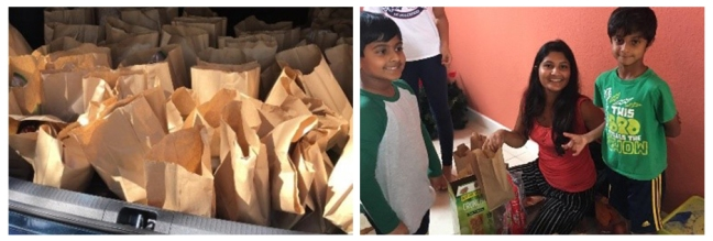 USA - Happy birthday Mohanji - Florida - food distribution to the needy