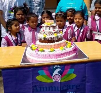 Vegan cake - Happy birthday Mohanji - Global Vegan Club (1)