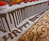 Vegan cake - Happy birthday Mohanji - Global Vegan Club (10)