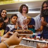Vegan cake - Happy birthday Mohanji - Global Vegan Club (11)