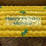 Vegan cake - Happy birthday Mohanji - Global Vegan Club (18)