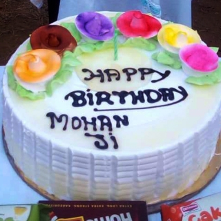 Vegan cake - Happy birthday Mohanji - Global Vegan Club (2a) (1)